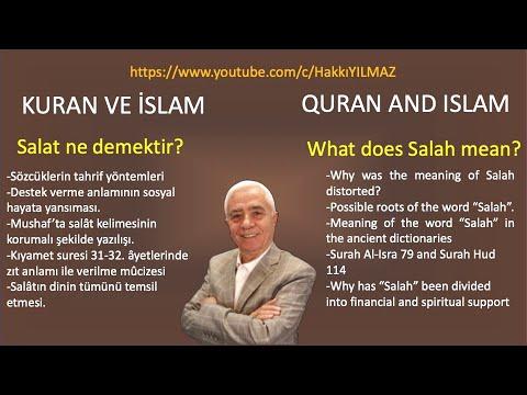 salat - http://istekuran.net/ 45.Bölüm Konu Başlıkları: • Salat sözcüğü anlamından neden kaydırıldı • Kuran'ın tahrif edilmesi ve