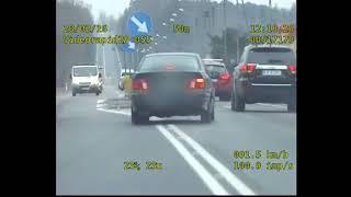 19-letni Seba uzbierał 167 punktów karnych! Policyjny pościg za BMW zakończony w rowie!