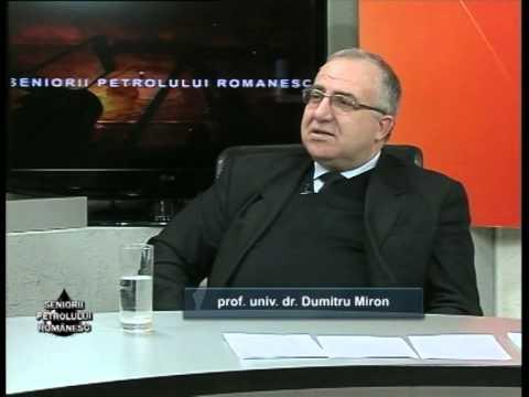 Emisiunea Seniorii Petrolului Românesc – Dumitru Miron –  15 februarie 2014
