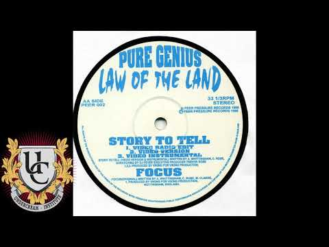 Pure Genius - Story To Tell (Video Version) (1996)