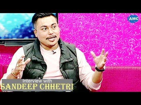 (Sandeep Chhetri ( Famous Comedian In Nepal )|| Interview...39 min)