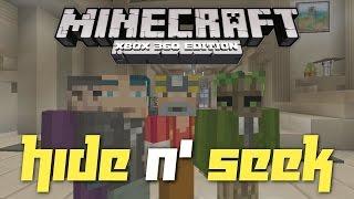 Minecraft Xbox 360: Hide N' Seek in the Alpine Mansion!