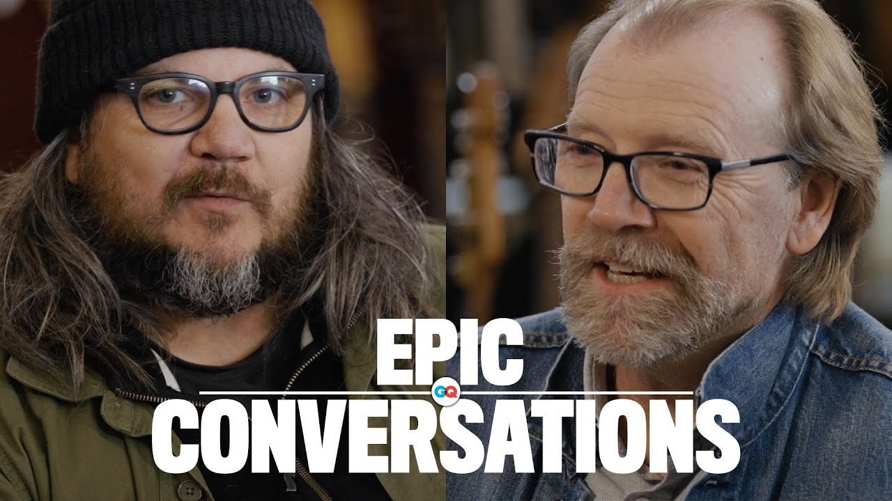 GQ | Jeff Tweedy and George Saunders Have an Epic Conversation