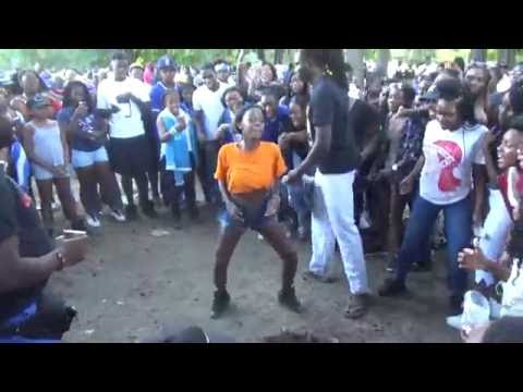 GARIFUNA HONDURAN PUNTA DANCE COMPETITION - HONDURAN DAY PARADE BRONX NEW YORK 2016