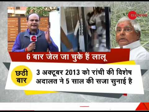 Breaking News: Lalu Prasad convicted in fodder scam