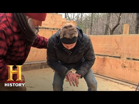 Mountain Men: Hand Crushed While Building a Cabin (Season 8) | History