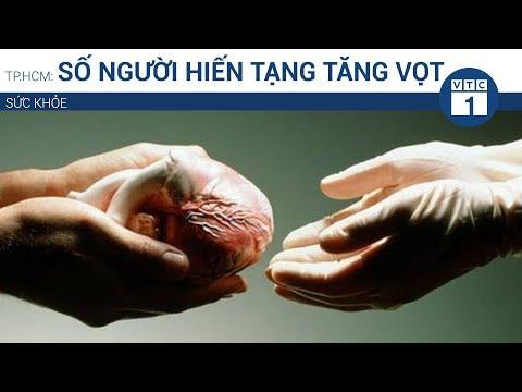 TP.HCM: Số người hiến tạng tăng vọt  | VTC1 - Thời lượng: 50 giây.