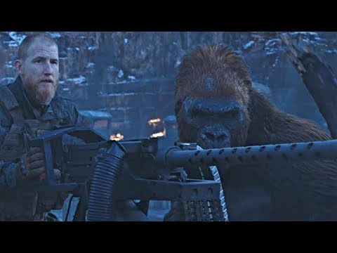 Final Battle Scene | War for the Planet of the Apes (2017)#LOWI