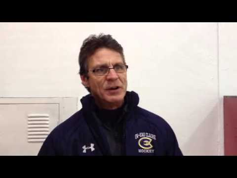 Women's Hockey:  Coach Collins Comments on 4-1 Loss at St. Mary's