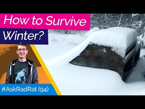 How To Survive Winter! #askradrat 94