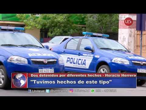 Novedades policiales del fin de semana