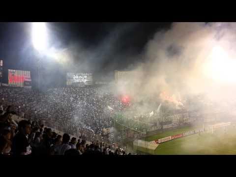 Recibimiento - Olimpia vs Universidad de Chile Libertadores 2013 HD - La Barra del Olimpia - Olimpia