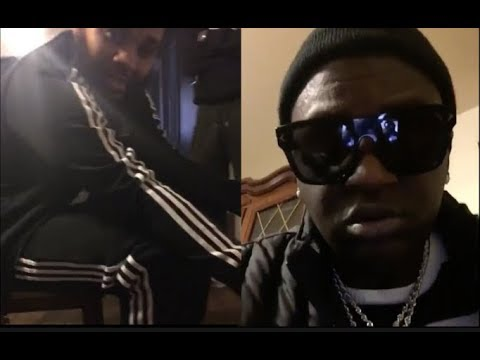 OG Boobie Black Pulls Up To Illinois To Pick Up His Mans Kevin Gates (1st Footage Of Gates)
