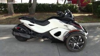 7. Used 2014 Can-Am Spyder RSS