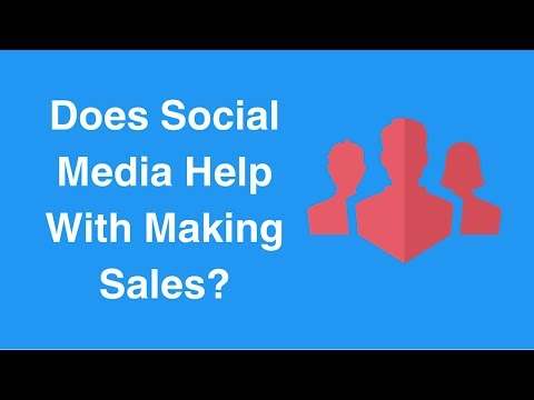 Watch 'Does Social Media Help With Making Sales? '