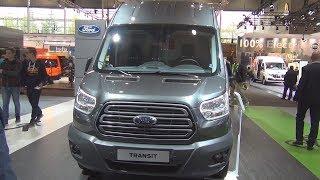 2. Ford Transit LKW Trend 350 L4 H3 RWD 2.0 TDCi 6MT Panel Van (2019) Exterior and Interior