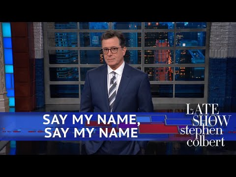 Donald Trump Is Afraid To Say Stephen's Name