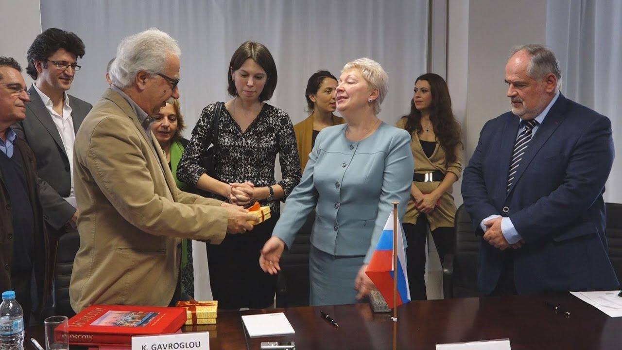 Υπογραφή Ελληνορωσικής Συμφωνίας για Επιστήμη, Έρευνα και Καινοτομία