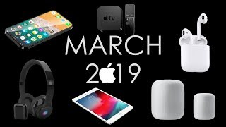 APPLE EVENT MARCH 2019 | AirPods 2, iPad Mini 5, HomePod Mini, iPhone SE 2, Apple HeadPhones & TV