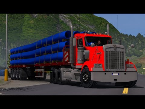Kenworth W900 for ETS2 Left & Right Hand Drive v2.0