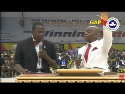 Bishop David Oyedepo Ministering @  RCCG HOLY GHOST SERVICE/ Pastor E.A Adeboye's 74th Birthday!