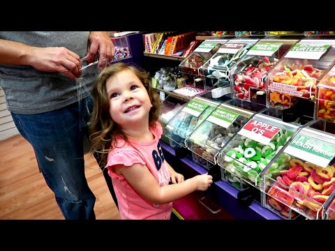 CANDY SHOPPING AT CANDY STORE