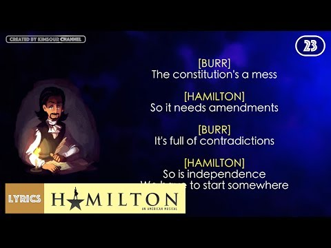 Video #23 Hamilton - Non-Stop (VIDEO LYRICS) download in MP3, 3GP, MP4, WEBM, AVI, FLV January 2017