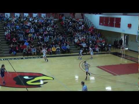 No. 12/13 Lady Cards Rally From 15 Points Down to Clinch Top Seed