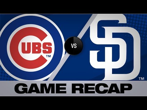 Video: Moerner shines in debut as Cubs win, 10-2 | Cubs-Padres Game Highlights 9/9/19