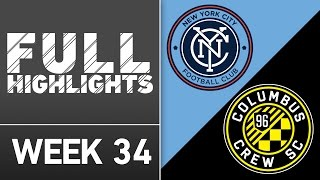 HIGHLIGHTS | New York City FC vs. Columbus Crew SC by Major League Soccer