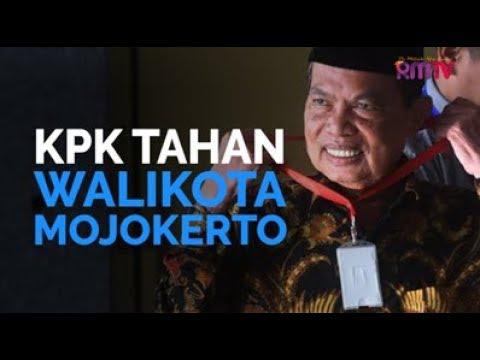 KPK Tahan Walikota Mojokerto