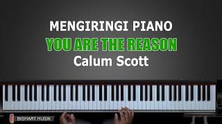 Video Belajar Piano YOU ARE THE REASON - Calum Scott   Part 1   Belajar Piano Keyboard MP3, 3GP, MP4, WEBM, AVI, FLV Desember 2018