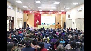 Đại biểu HĐND thành phố tiếp xúc cử tri phường Trưng Vương và Bắc Sơn