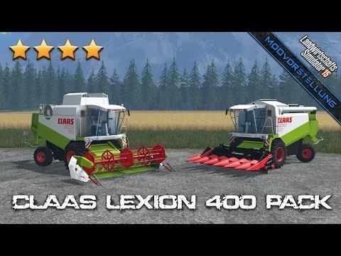 Claas Lexion 400 Pack v1.2