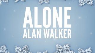 Video Alan Walker - Alone (Lyrics) download in MP3, 3GP, MP4, WEBM, AVI, FLV Maret 2017