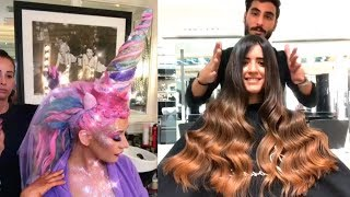 Video Amazing Hairstyles Compilation | Viral Makeup Videos on Instagram 2017 MP3, 3GP, MP4, WEBM, AVI, FLV Mei 2019