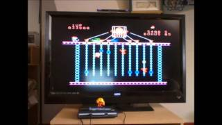 Donkey Kong Jr [Skill 4] (Colecovision Emulated) by DuggerVideoGames