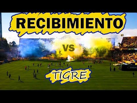 RECIBIMIENTO de Rosario Central vs Tigre 2017 - Fecha 17 - Los Guerreros - Rosario Central