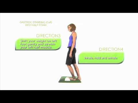 毎日の日課におススメ!青竹踏みで腓腹筋のストレッチ&血流促進