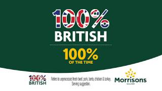 Our fresh meat is 100% British, 100% of the time