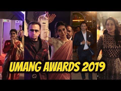 B -Town Celebs Spotted At Umang Awards 2019