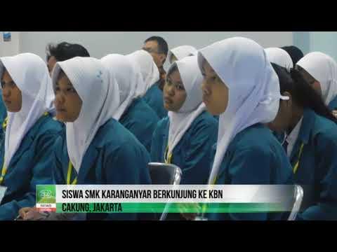 Siswa SMK Karanganyar Berkunjung ke KBN