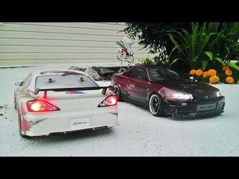 competitionready - Video taken by me of my buddys drift car, Tamiya TL01, Nissan Silvia. More videos coming soon!!!