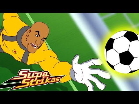 S3 E2 - Sky's the Limit | SupaStrikas Soccer kids cartoons | Super Cool Football Animation | Anime