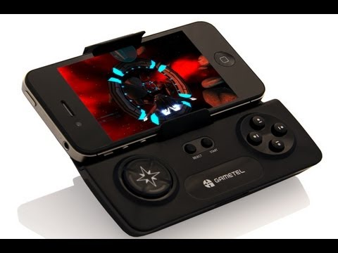 Accessory Reviews - Gametel wireless controller review. Classic Game Room presents a CGRundertow review of the Gametel wireless controller for the iPhone and Android. Although n...