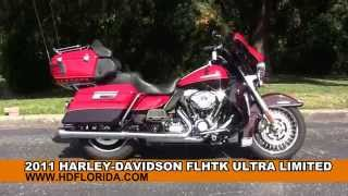 7. Used 2011 Harley Davidson Electra Glide Ultra Limited Motorcycles for sale