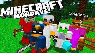 WE'RE BAAACCKK! - MINECRAFT MONDAYS with The Crew!