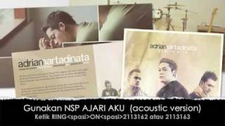 "Video adrian martadinata ""AJARI AKU"" acoustic version NEW!!!! MP3, 3GP, MP4, WEBM, AVI, FLV Juni 2018"