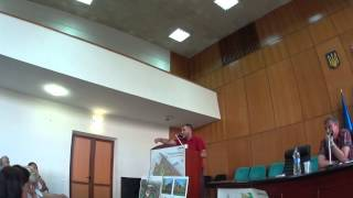 Виступ В.Деркача та Я.Годунка від РПЛ м.Борисполя, щодо забудівлі СоцМістечка!