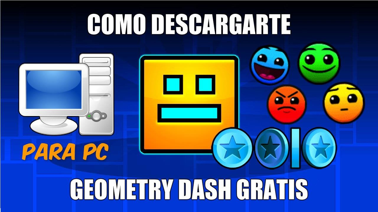 Tutorial Como Descargar e Instalar Geometry Dash para PC [Mediafire]